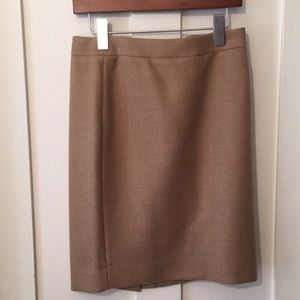 J.Crew No.2 Wool Pencil Skirt